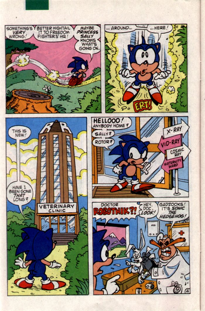 Sonic - Archie Adventure Series June 1994 Page 4