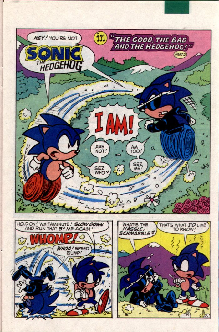Sonic - Archie Adventure Series June 1994 Page 6