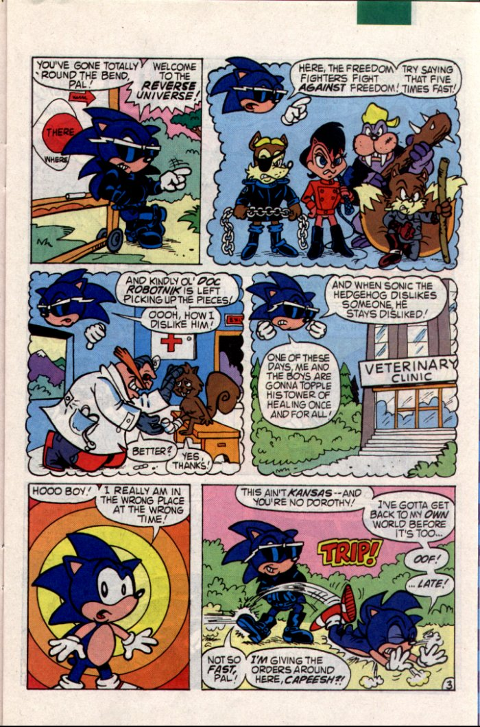 Sonic - Archie Adventure Series June 1994 Page 8