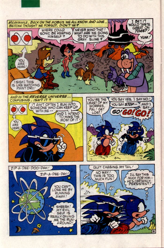Sonic - Archie Adventure Series June 1994 Page 9