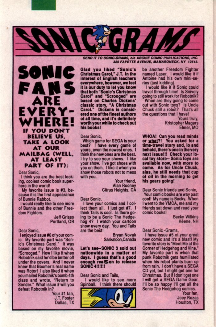 Sonic - Archie Adventure Series June 1994 Page 18