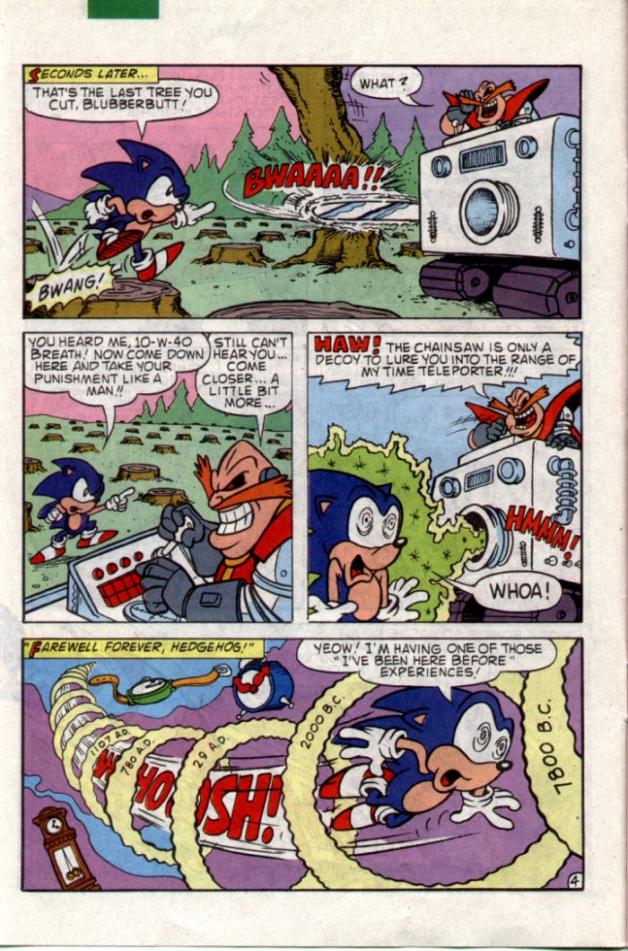 Sonic - Archie Adventure Series July 1994 Page 4