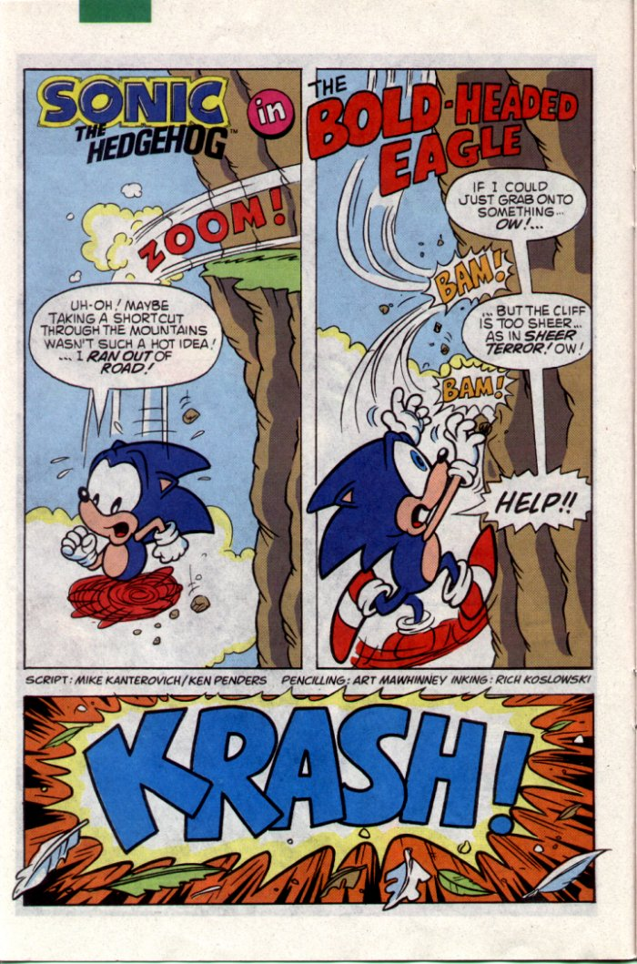 Sonic - Archie Adventure Series July 1994 Page 13
