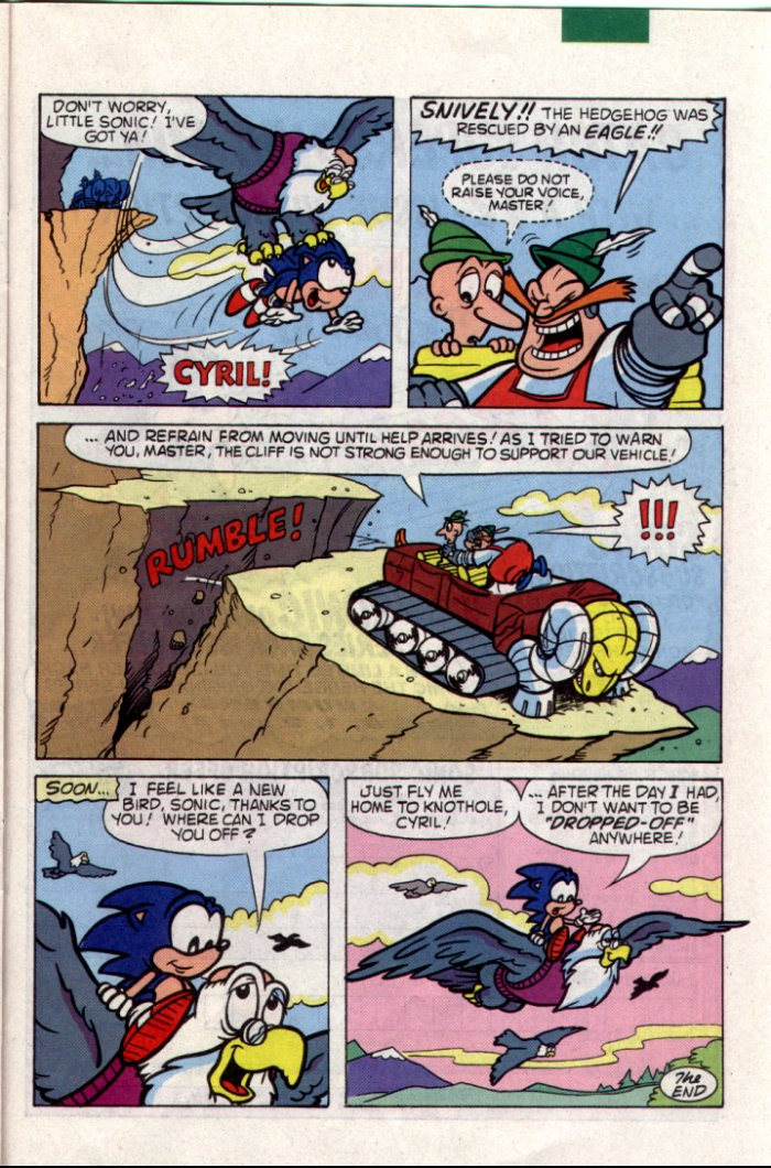 Sonic - Archie Adventure Series July 1994 Page 18