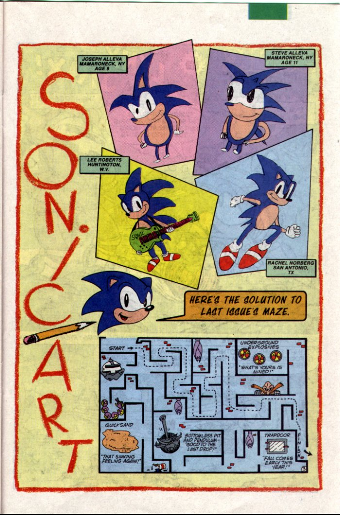 Sonic - Archie Adventure Series July 1994 Page 19