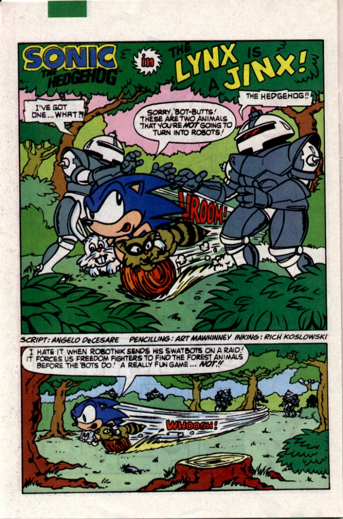 Sonic - Archie Adventure Series July 1994 Page 20
