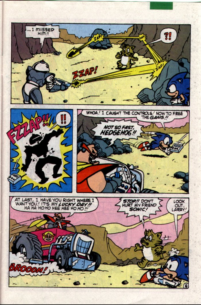 Sonic - Archie Adventure Series July 1994 Page 25