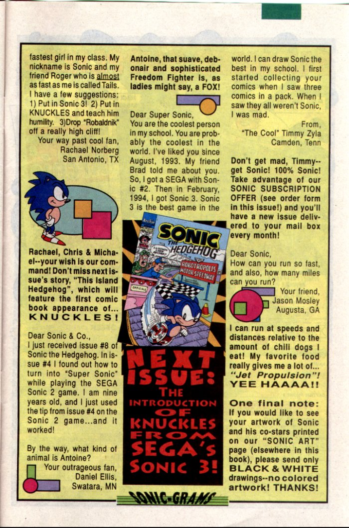 Sonic - Archie Adventure Series July 1994 Page 28