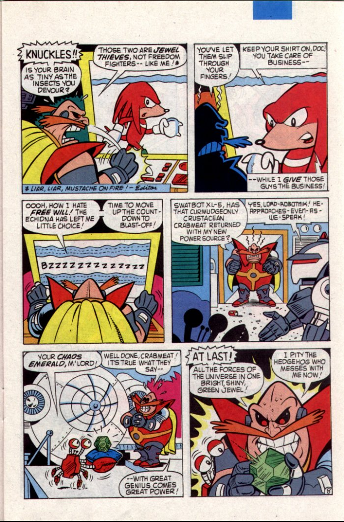 Sonic - Archie Adventure Series August 1994 Page 8
