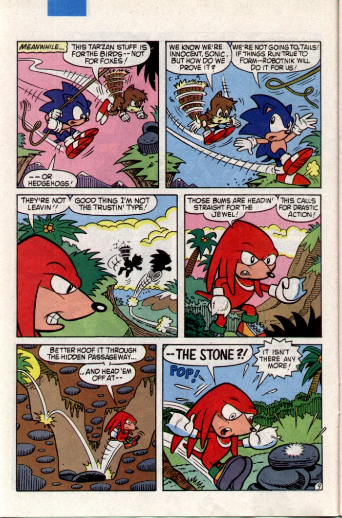 Sonic - Archie Adventure Series August 1994 Page 9