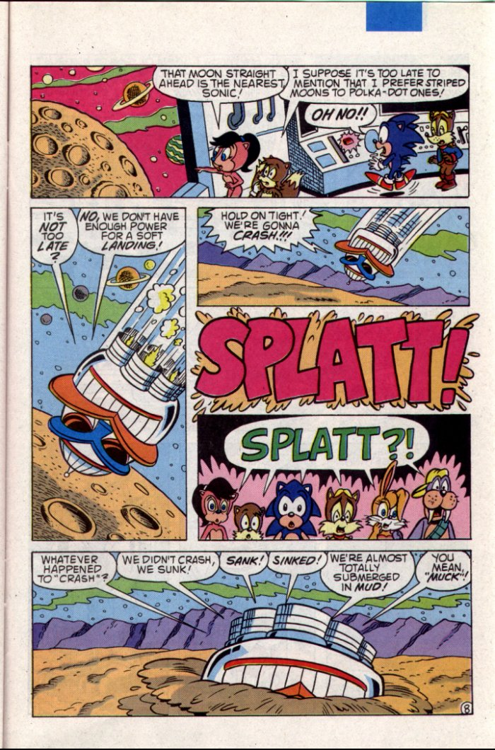 Sonic - Archie Adventure Series August 1994 Page 20