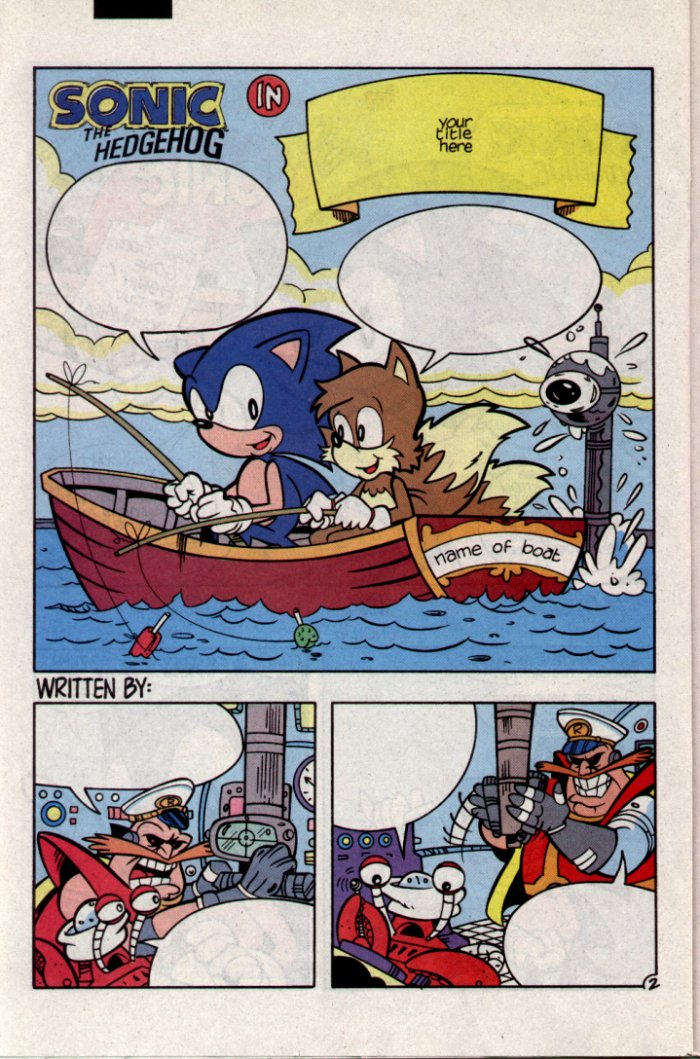 Sonic - Archie Adventure Series September 1994 Page 16