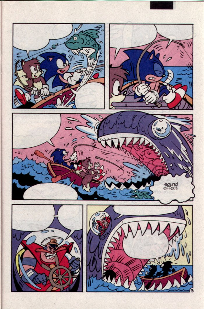 Sonic - Archie Adventure Series September 1994 Page 17