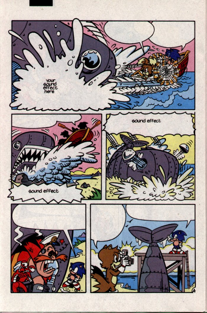 Sonic - Archie Adventure Series September 1994 Page 18