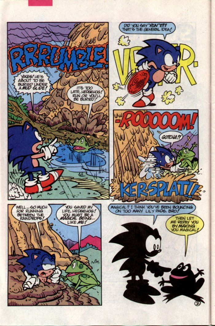 Sonic - Archie Adventure Series October 1994 Page 2