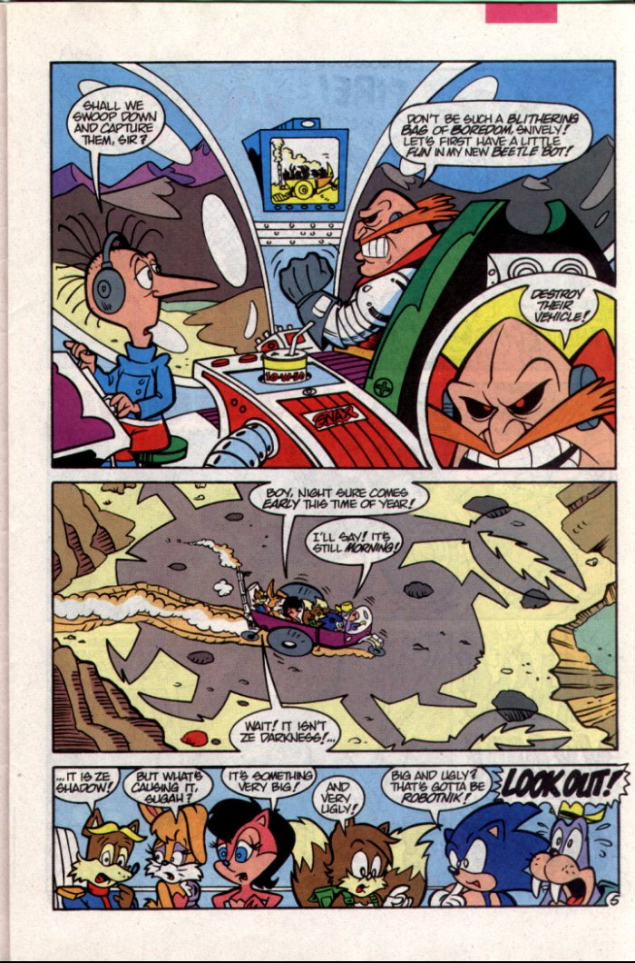 Sonic - Archie Adventure Series October 1994 Page 5