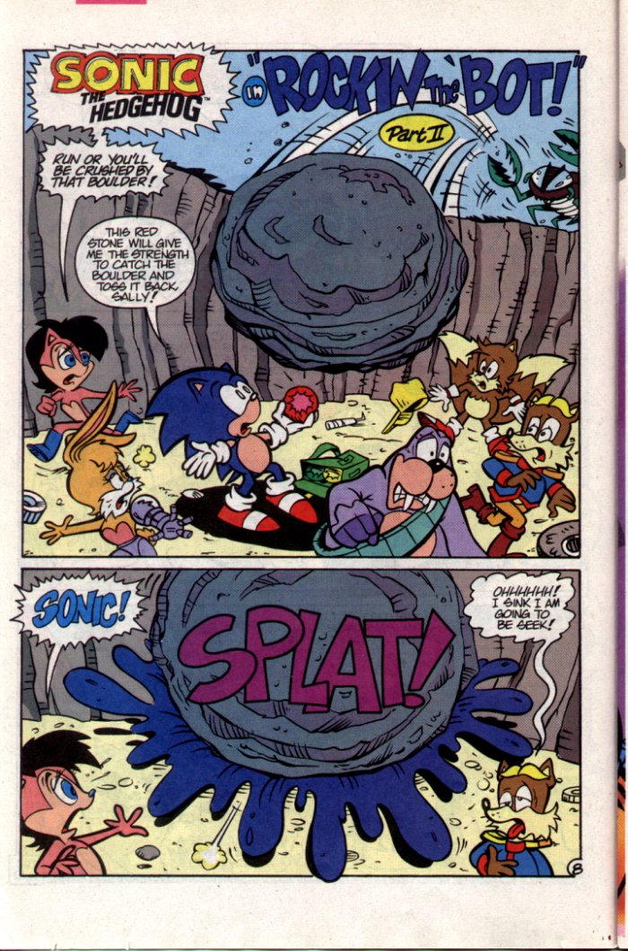Sonic - Archie Adventure Series October 1994 Page 8