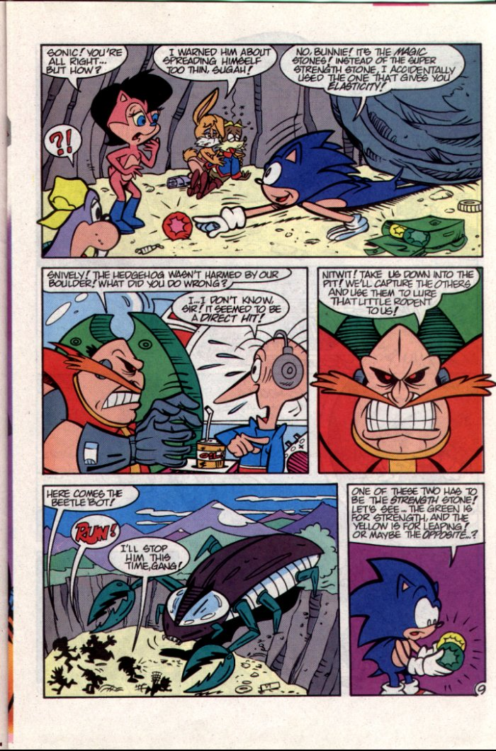 Sonic - Archie Adventure Series October 1994 Page 9