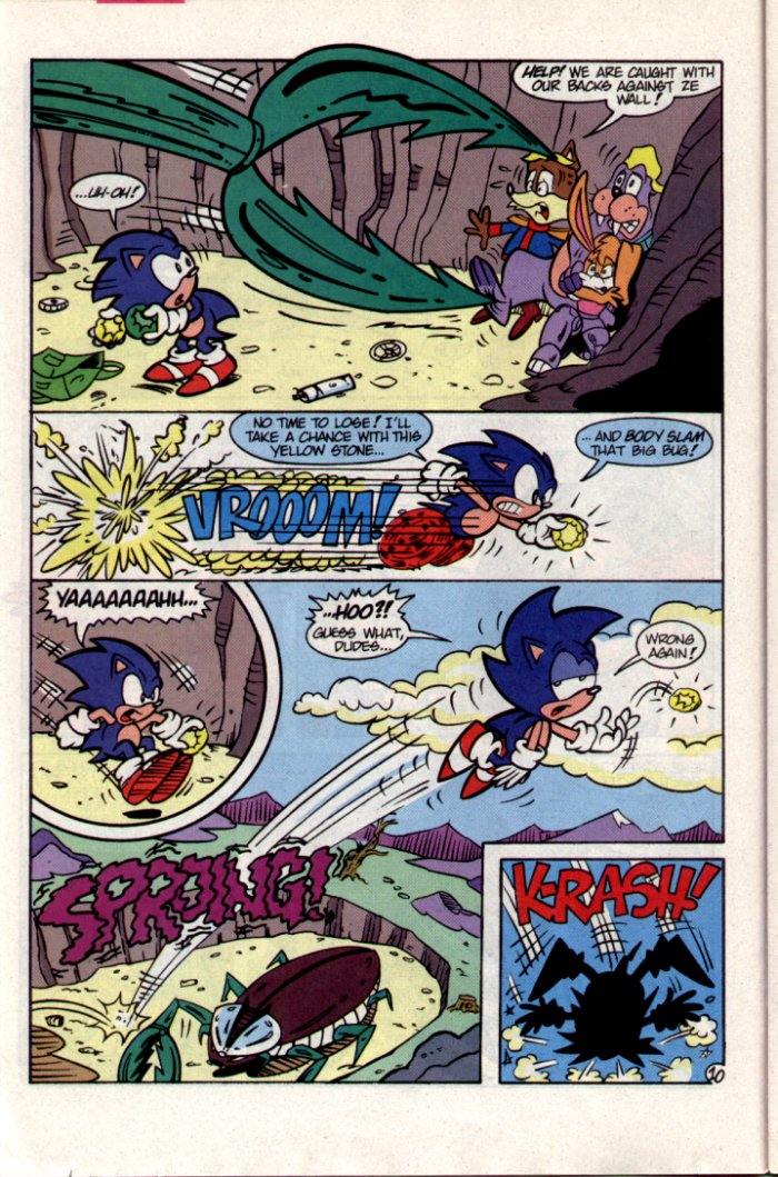 Sonic - Archie Adventure Series October 1994 Page 10