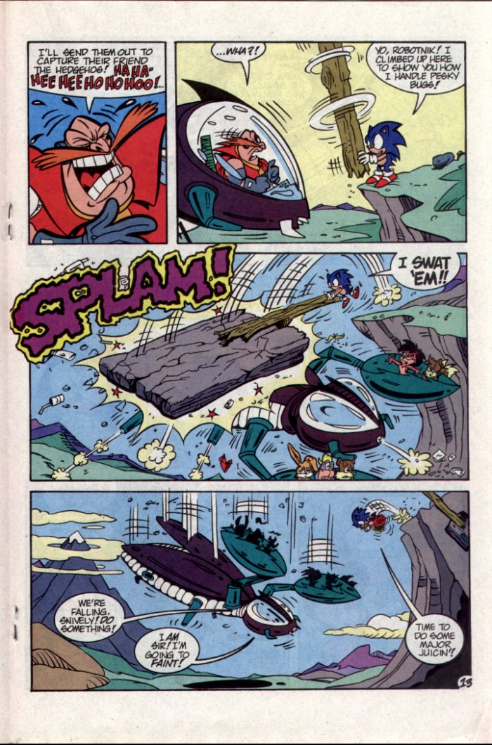 Sonic - Archie Adventure Series October 1994 Page 13