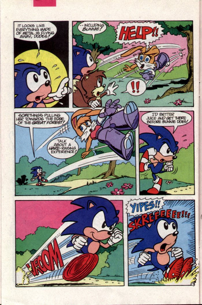 Sonic - Archie Adventure Series October 1994 Page 21