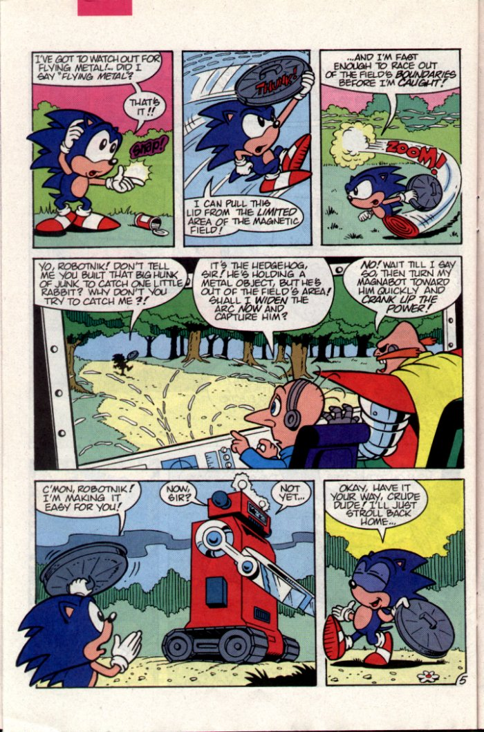 Sonic - Archie Adventure Series October 1994 Page 23
