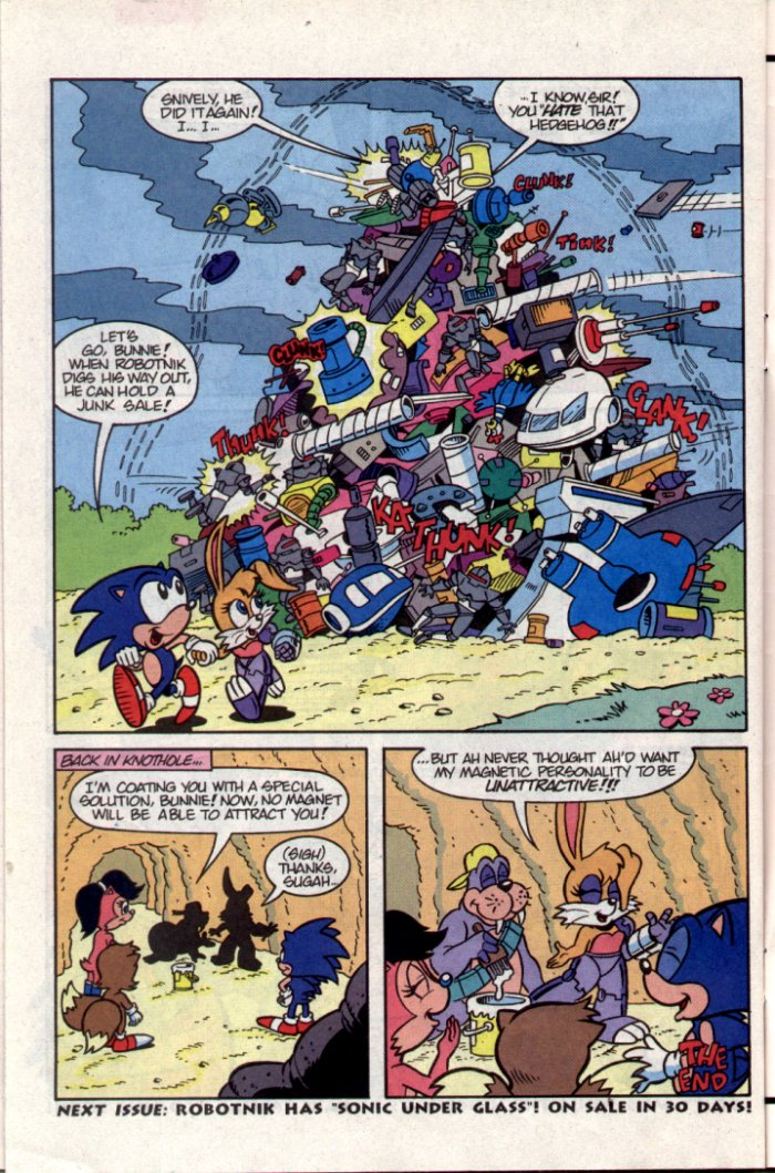 Sonic - Archie Adventure Series October 1994 Page 25