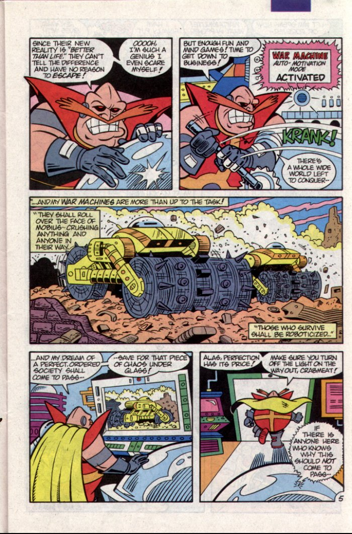 Sonic - Archie Adventure Series November 1994 Page 5