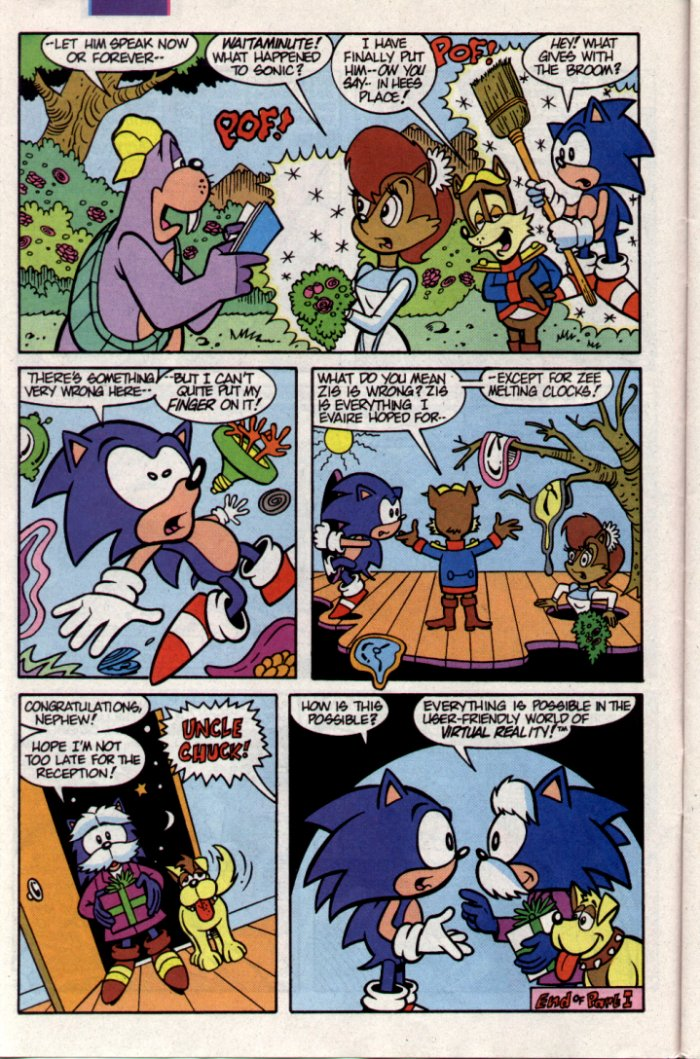 Sonic - Archie Adventure Series November 1994 Page 6