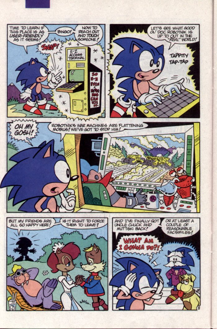 Sonic - Archie Adventure Series November 1994 Page 8