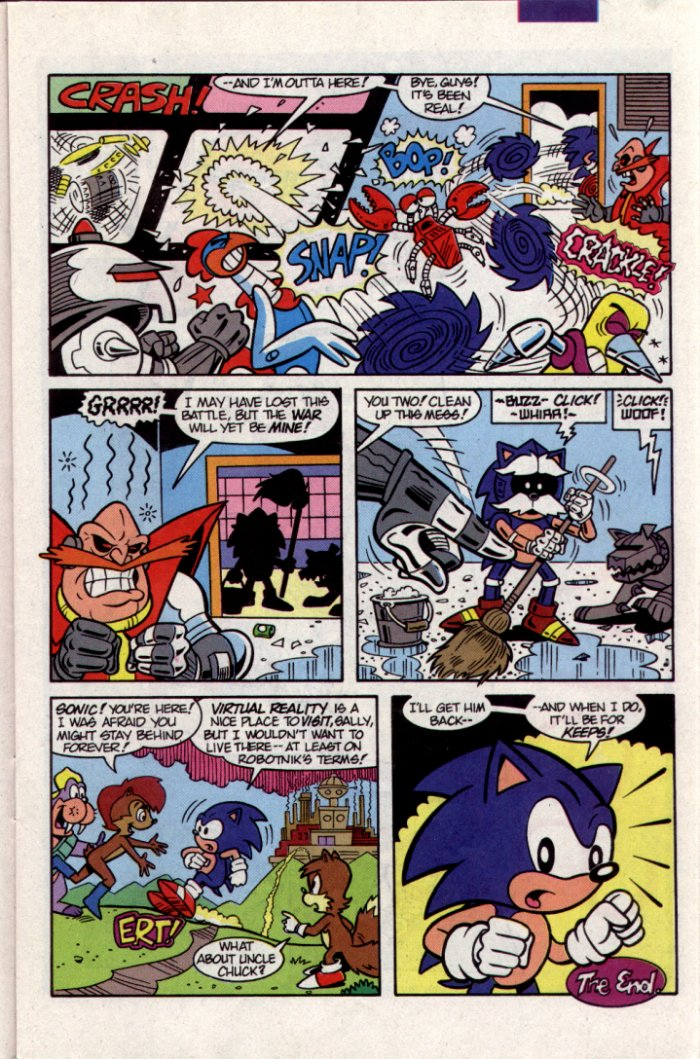 Sonic - Archie Adventure Series November 1994 Page 11