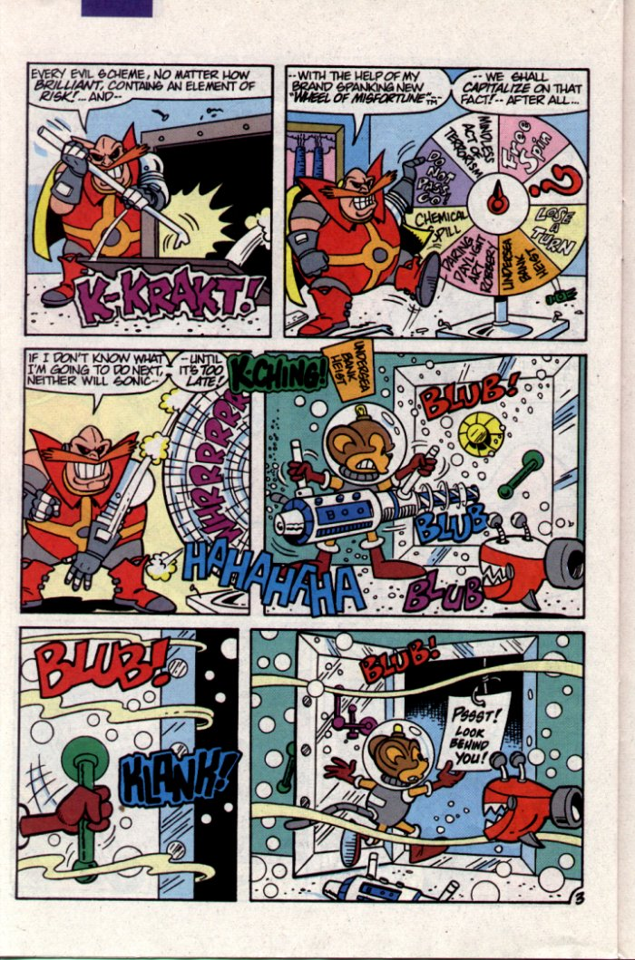 Sonic - Archie Adventure Series November 1994 Page 15