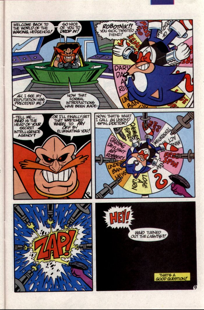 Sonic - Archie Adventure Series November 1994 Page 21