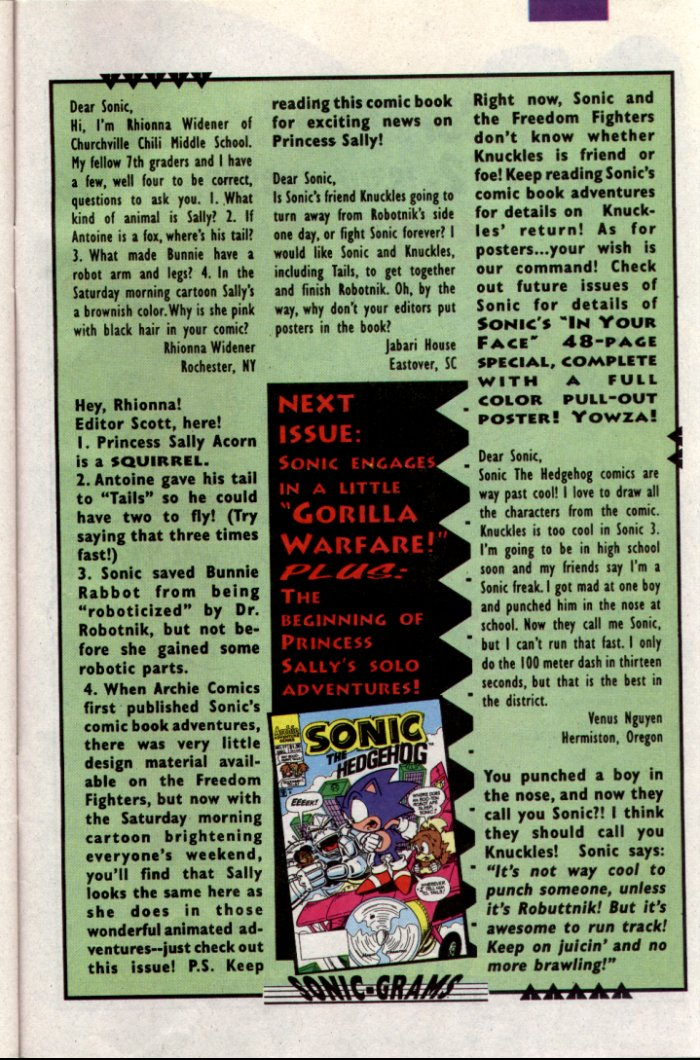 Sonic - Archie Adventure Series November 1994 Page 24