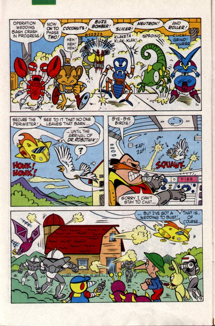 Sonic - Archie Adventure Series January 1995 Page 9