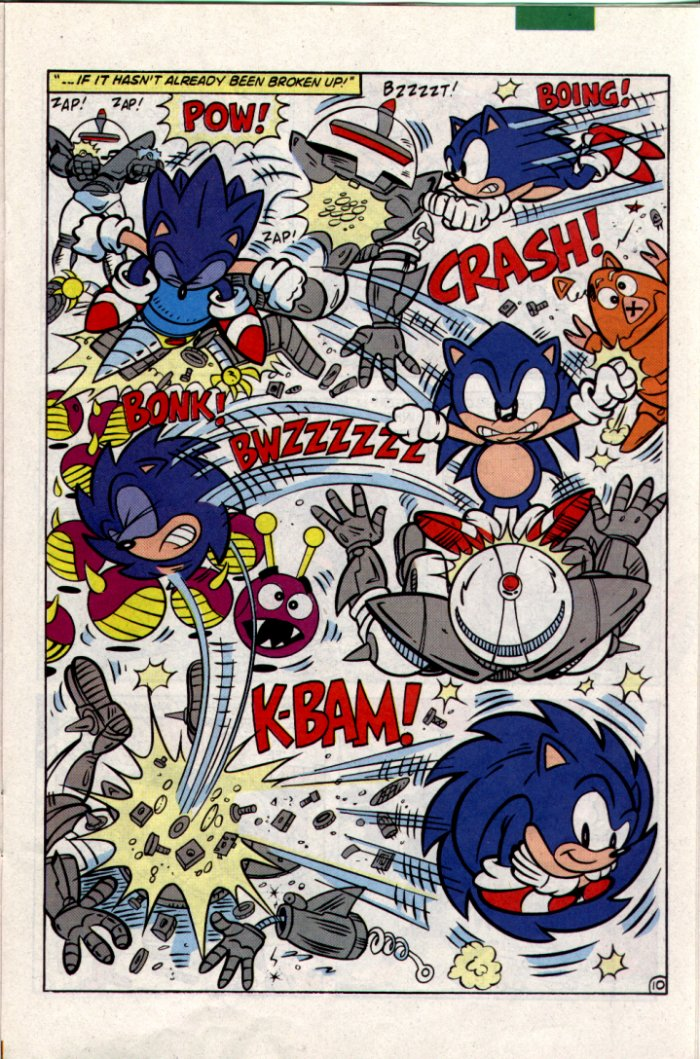 Sonic - Archie Adventure Series January 1995 Page 10