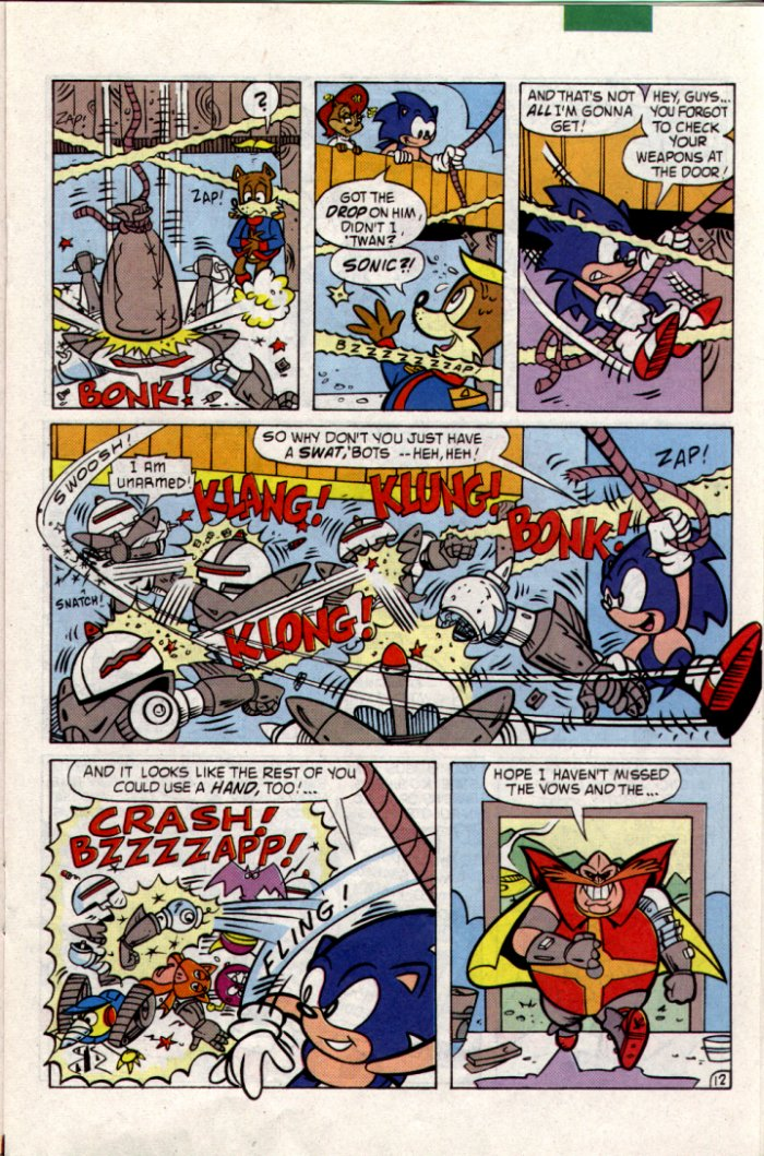 Sonic - Archie Adventure Series January 1995 Page 12