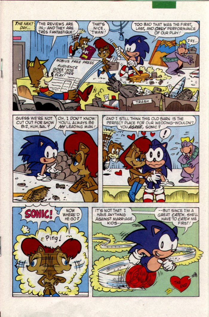 Sonic - Archie Adventure Series January 1995 Page 14