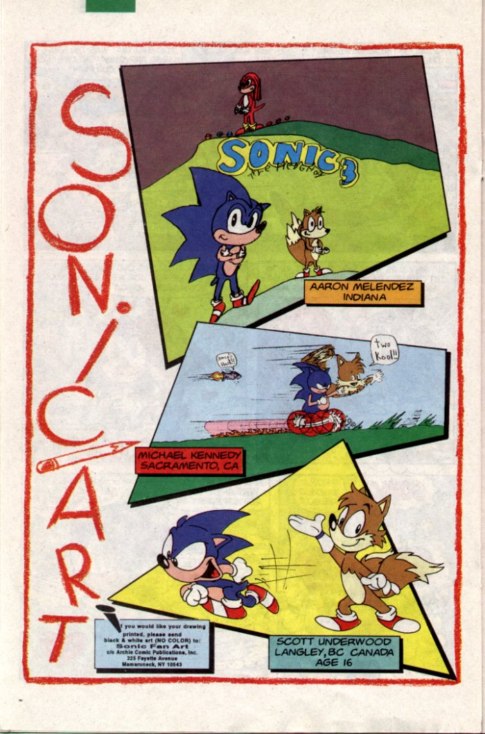Sonic - Archie Adventure Series January 1995 Page 15