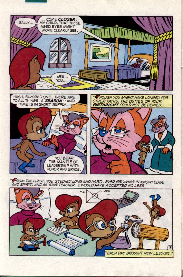 Sonic - Archie Adventure Series January 1995 Page 19
