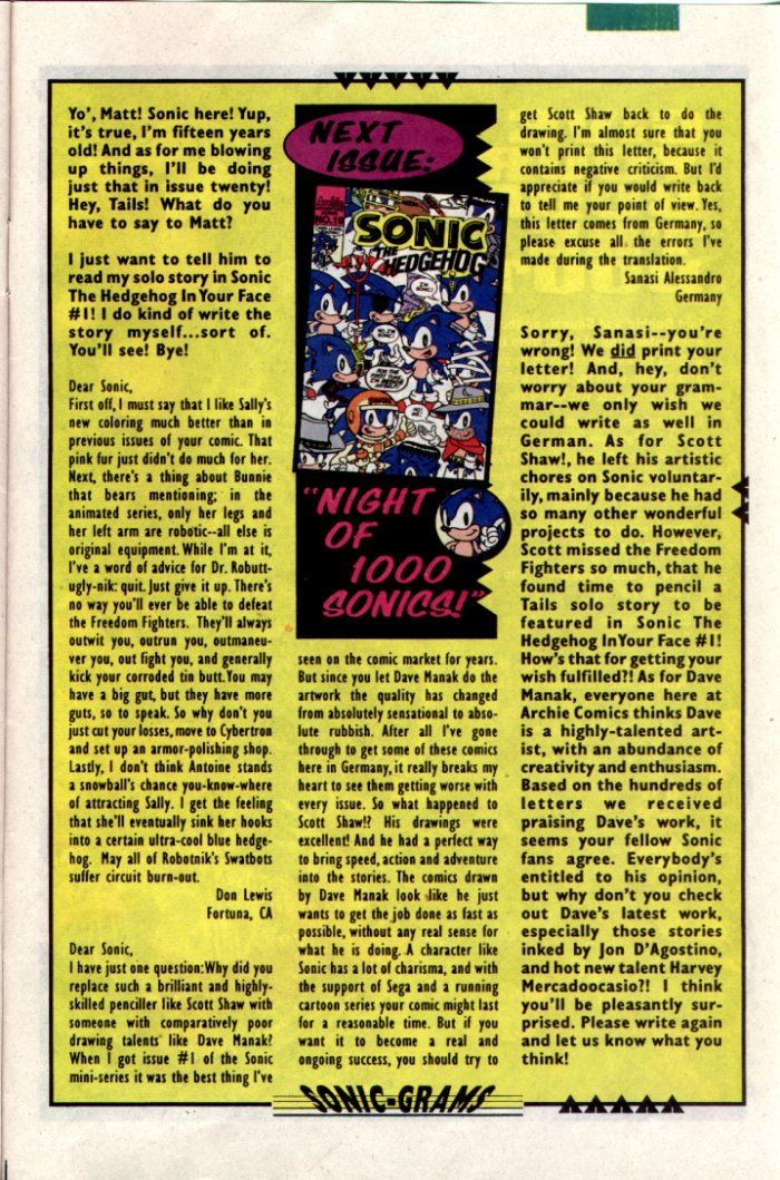 Sonic - Archie Adventure Series January 1995 Page 24