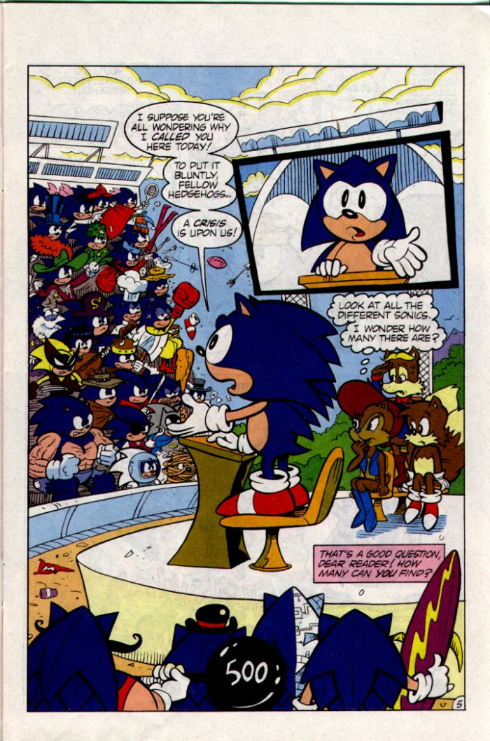 Sonic - Archie Adventure Series February 1995 Page 5