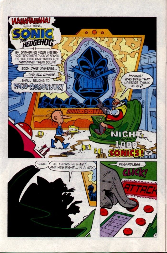Sonic - Archie Adventure Series February 1995 Page 7