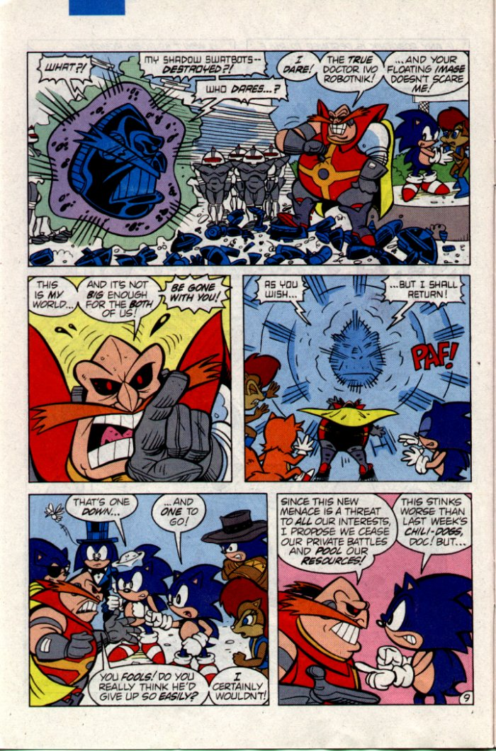 Sonic - Archie Adventure Series February 1995 Page 9