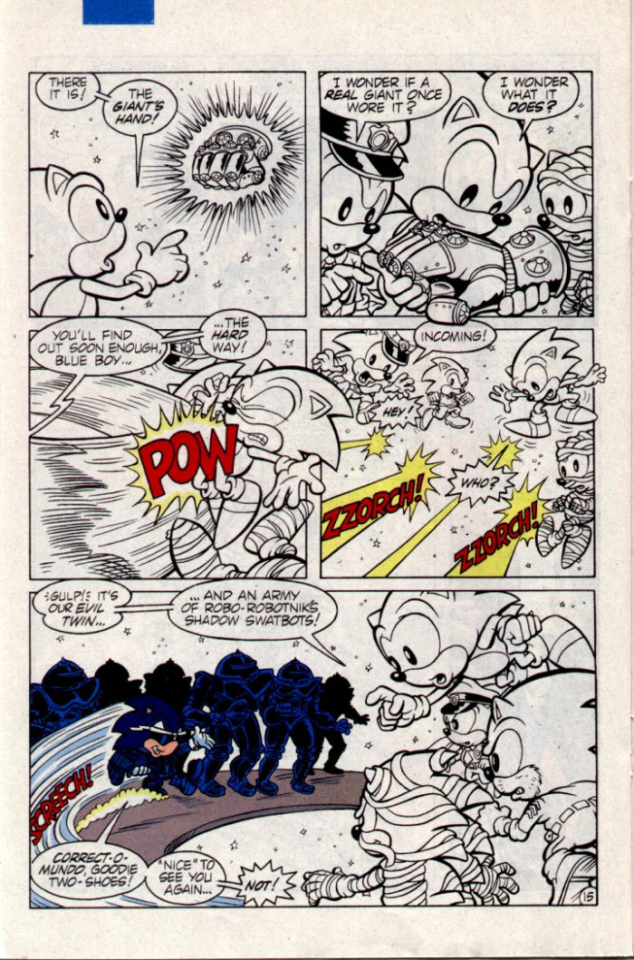 Sonic - Archie Adventure Series February 1995 Page 15