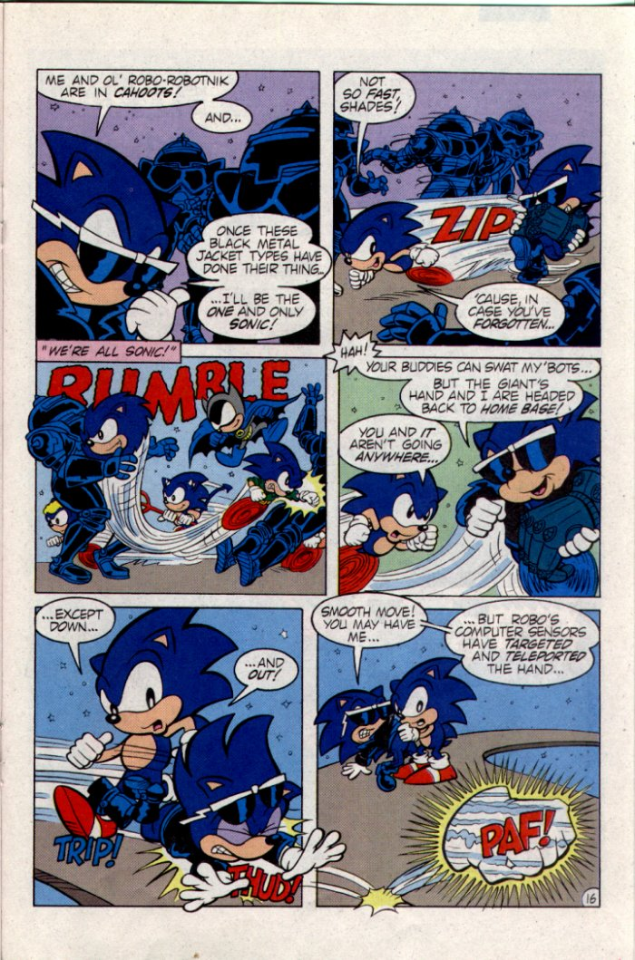 Sonic - Archie Adventure Series February 1995 Page 16