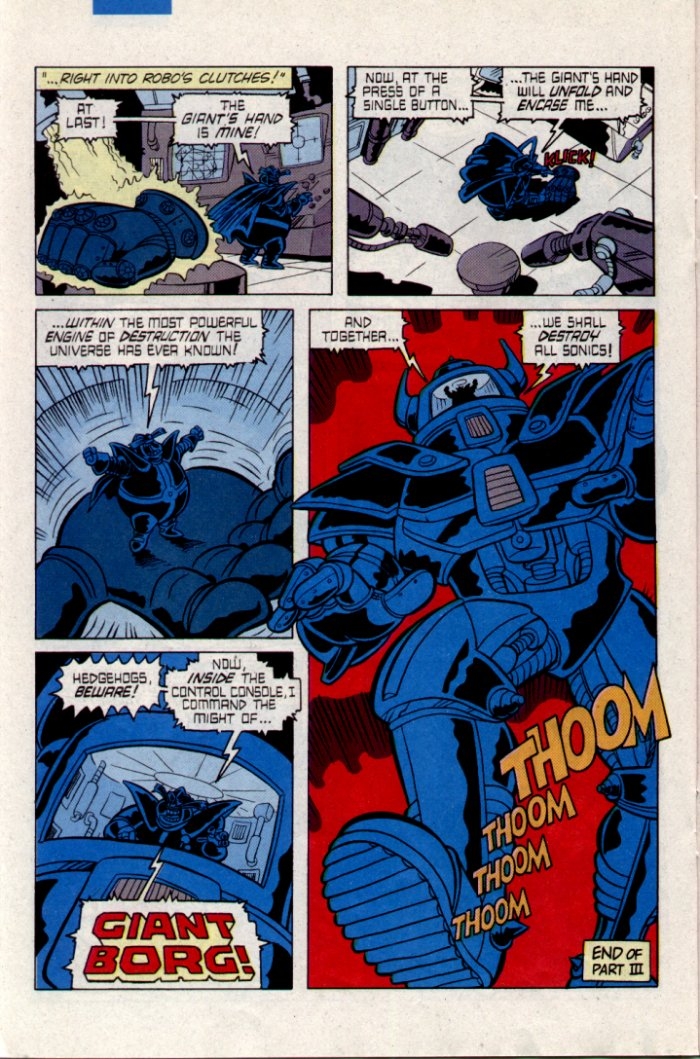 Sonic - Archie Adventure Series February 1995 Page 17