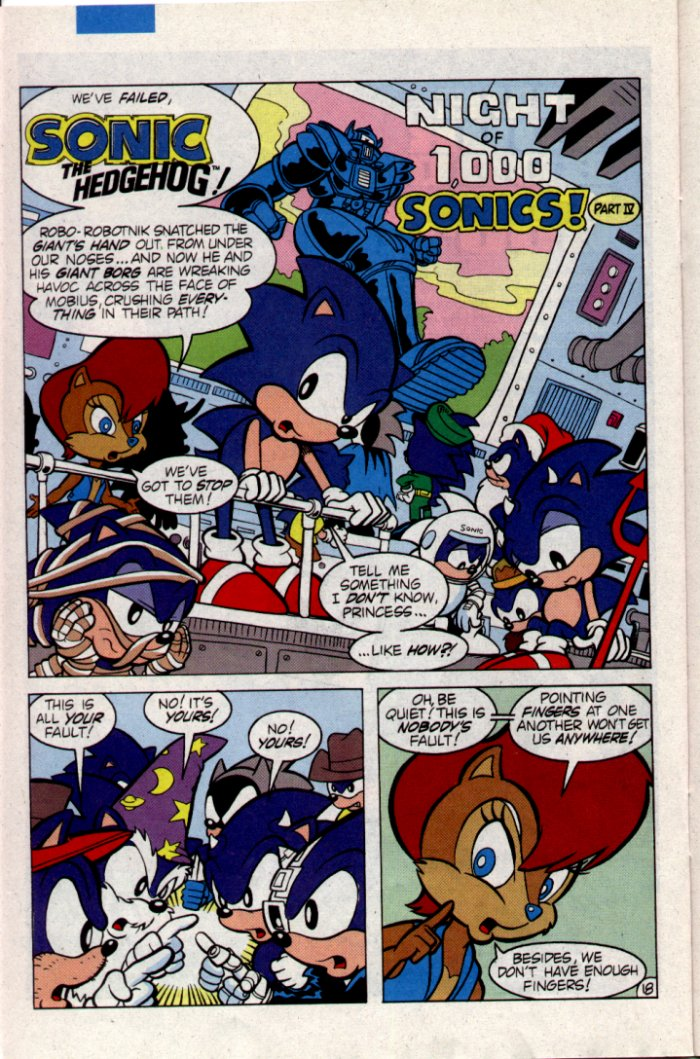Sonic - Archie Adventure Series February 1995 Page 18