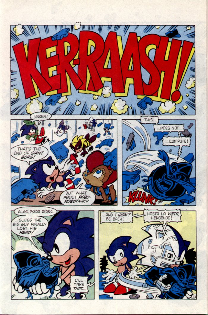Sonic - Archie Adventure Series February 1995 Page 23