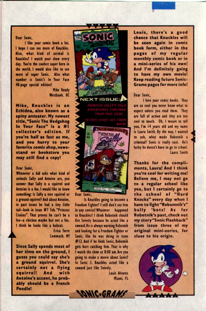 Sonic - Archie Adventure Series February 1995 Page 26